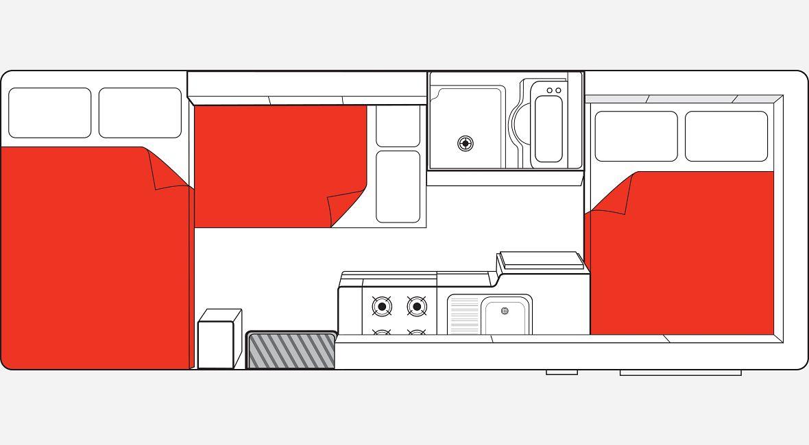 Big six Night Floor Plan NZ