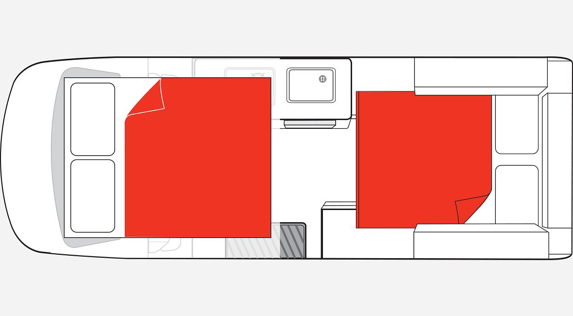 Double Down Night Floor Plan AU