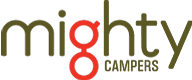 Mighty footer logo